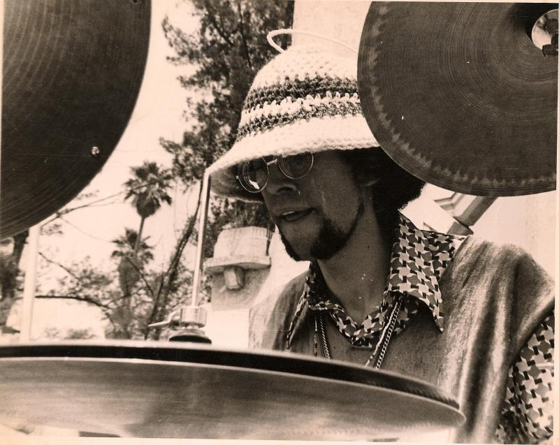 Francisco Mora Catlett wih Sun Ra MEXICO CITY 1970
